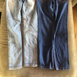 Indigo Rein Bottoms - Girls 10 jeans lot 2 pair Indigo Rein and Vigoss